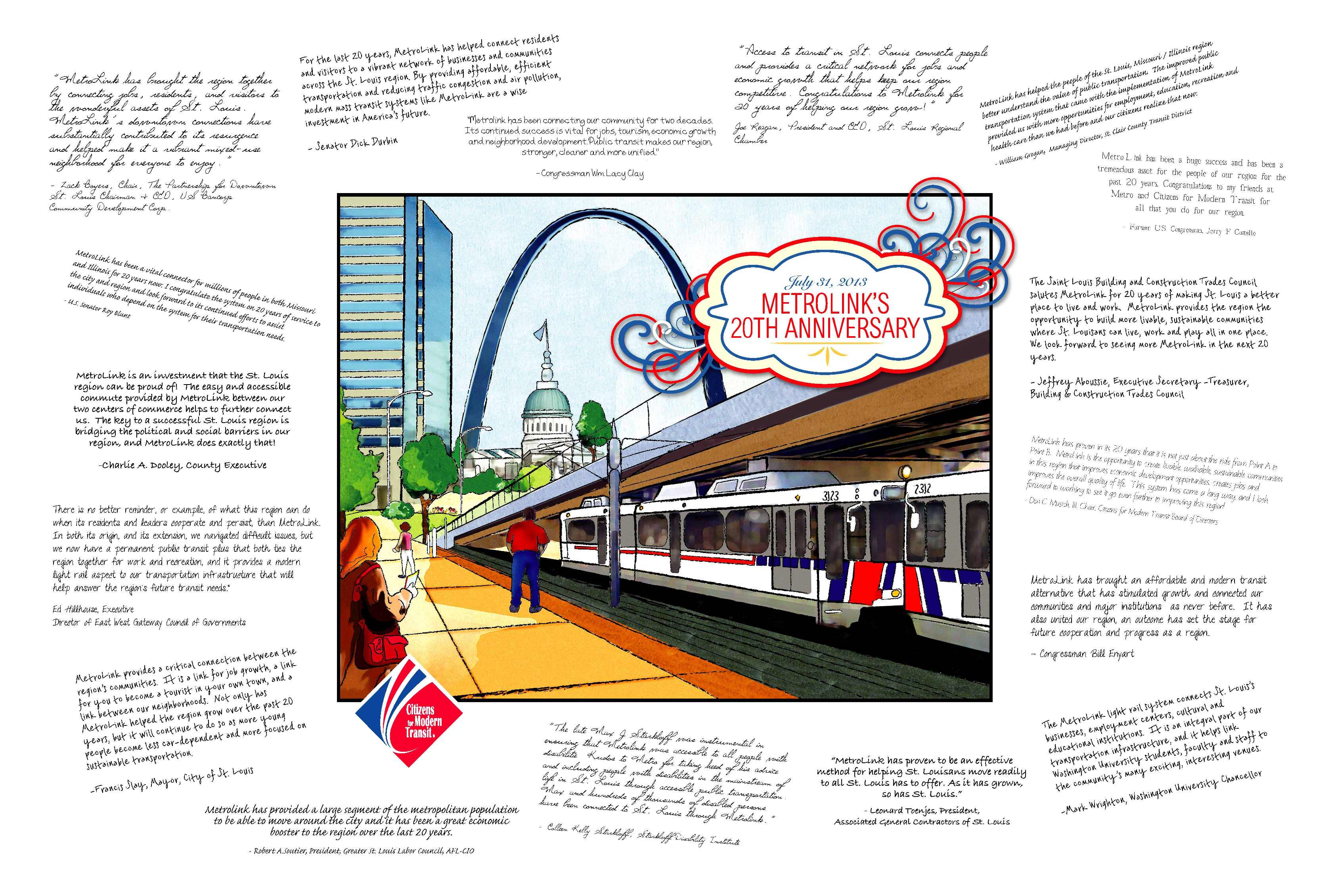 Local leaders weigh in on MetroLink's importance to St. Louis